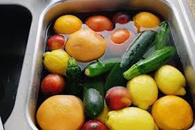 frutas agua oxig