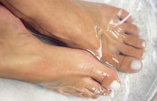 pies agua oxig